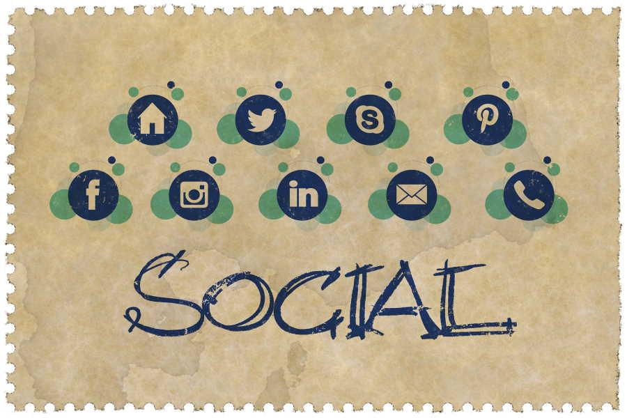 Ilustração o que é gestão de redes sociais